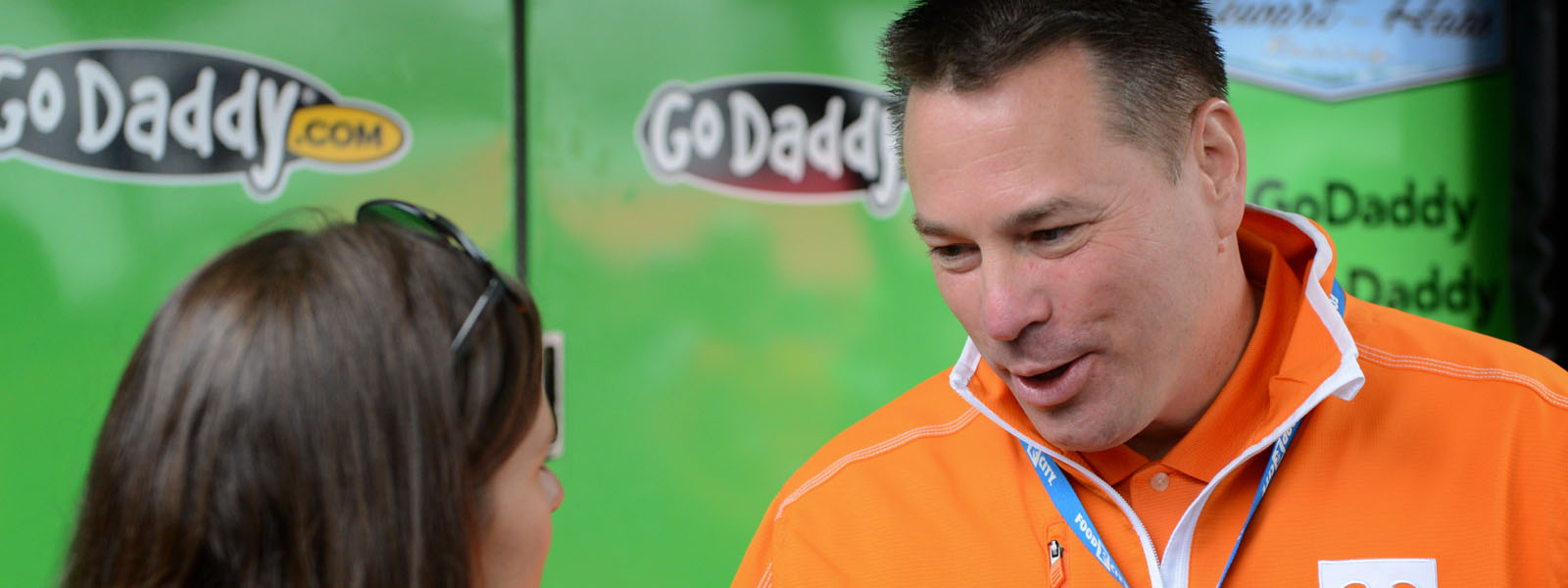 Butch Jones and Danica Patrick